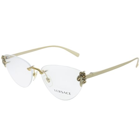 Versace Glasses Frames (Versace  VE 1254B 1428 54mm Womens  Rimless)