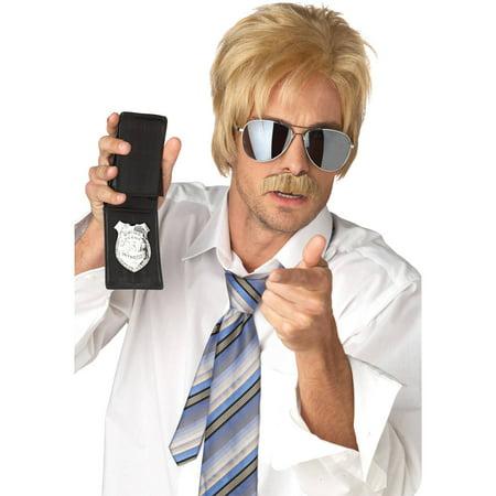 Blonde Ace Detective Wig Adult Halloween Accessory - Ace Ventura Wigs Halloween