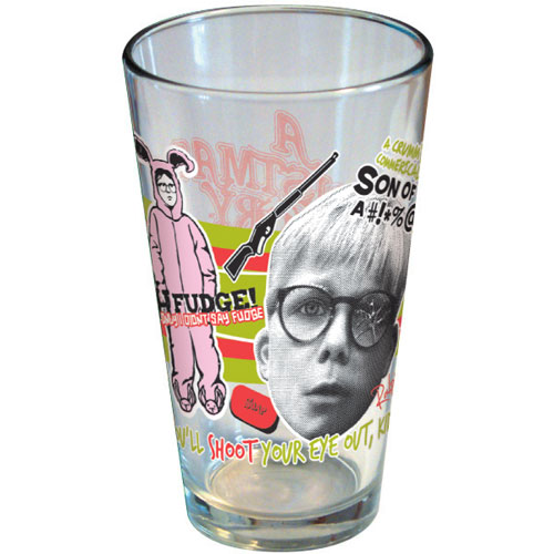 A Christmas Story Pint Glass by ICUP
