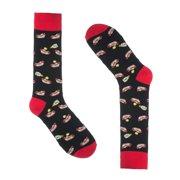 Novelty Socks for Men - Fun Colorful Dress Socks - Premium Cotton - Size 8-13 (One Pair)