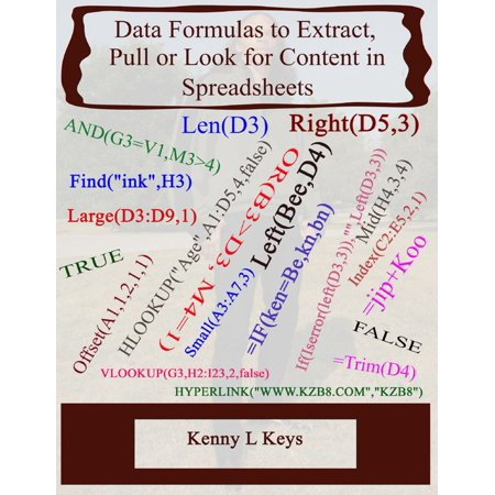 Data Formulas to Extract, Pull or Look for Content in Spreadsheets -