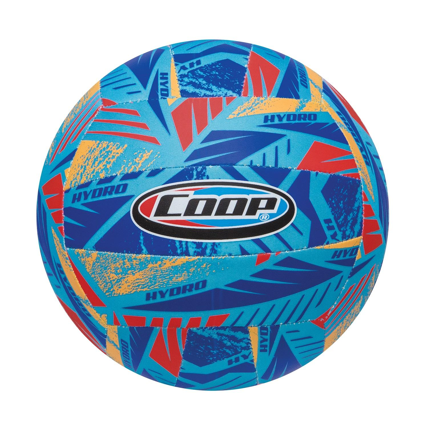"""8"""" Blue, Orange and Red High Performance Hydro Volleyball Swimming Pool Toy by Swim Way"""