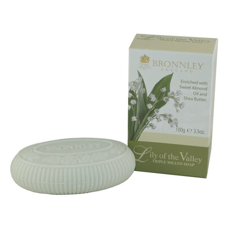 - Bronnley Lily Of The Valley. Triple Milled Soaps 3.5 Oz / 100g