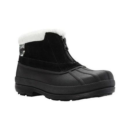 Women's Propet Lumi Ankle Zip Duck covid 19 (Pro Skate Boot coronavirus)
