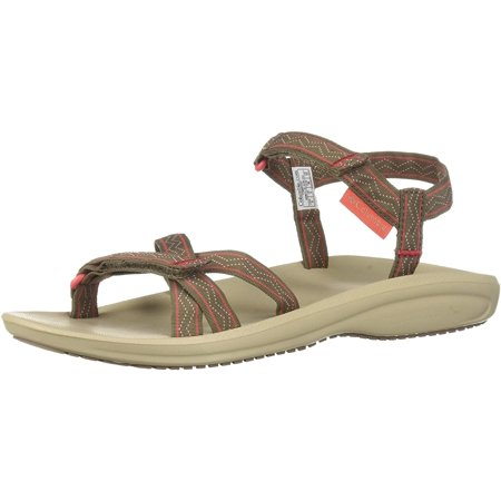 Columbia Women's Wave Train Sport Sandal, Wet Sand, red Coral, 10 Regular US - image 1 of 1