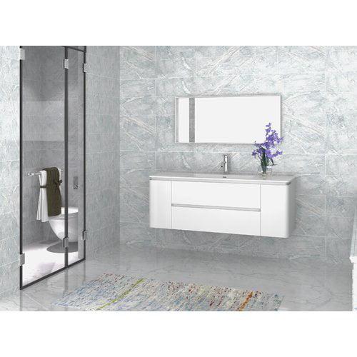 Orren Ellis Kleinschmidt 55'' Single Bathroom Vanity with...