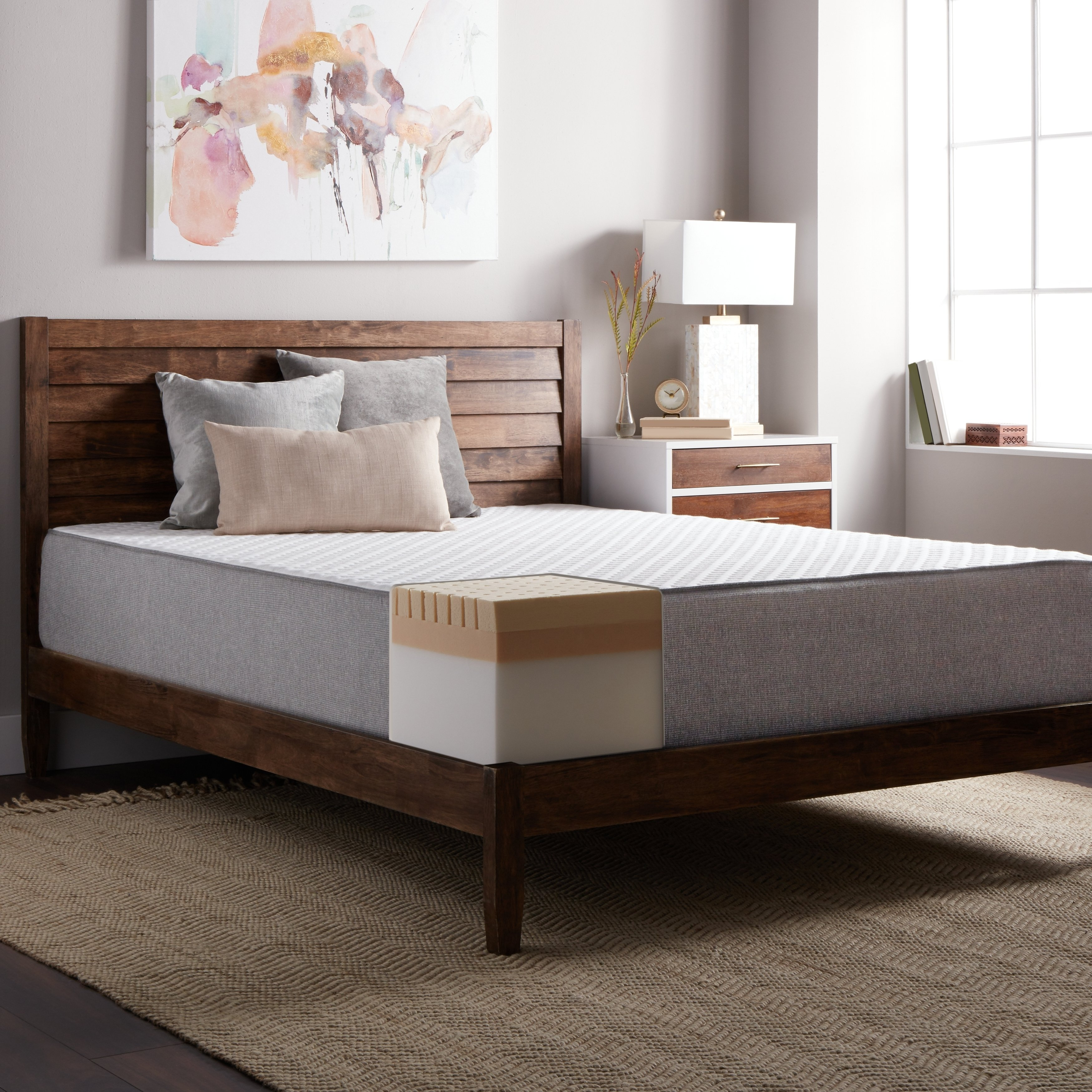 Select Luxury  E.C.O. 12-inch Latex and Memory Foam Mattress