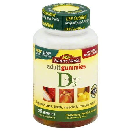 ed2f55790e6 Nature Made Vitamin D3 Adult Gummies