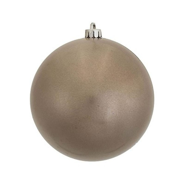 "Vickerman 10"" Pewter Candy Ball Christmas Ornament - image 1 de 1"