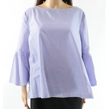 0be8093e6d Nordstrom Signature Tops & Blouses - Nordstrom Signature Women Large Flare  Sleeve Striped Blouse $199 - Walmart.com