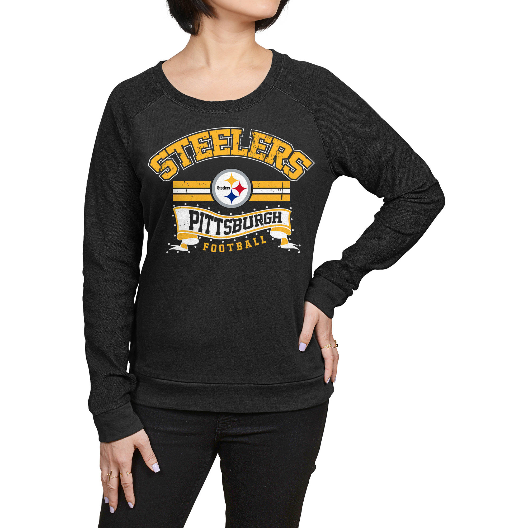 NFL Pittsburgh Steelers Juniors Fleece Top