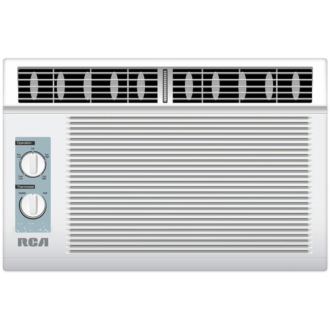 RCA RACM5005 5000 BTU Window Air Conditioner, Mechanical Controls