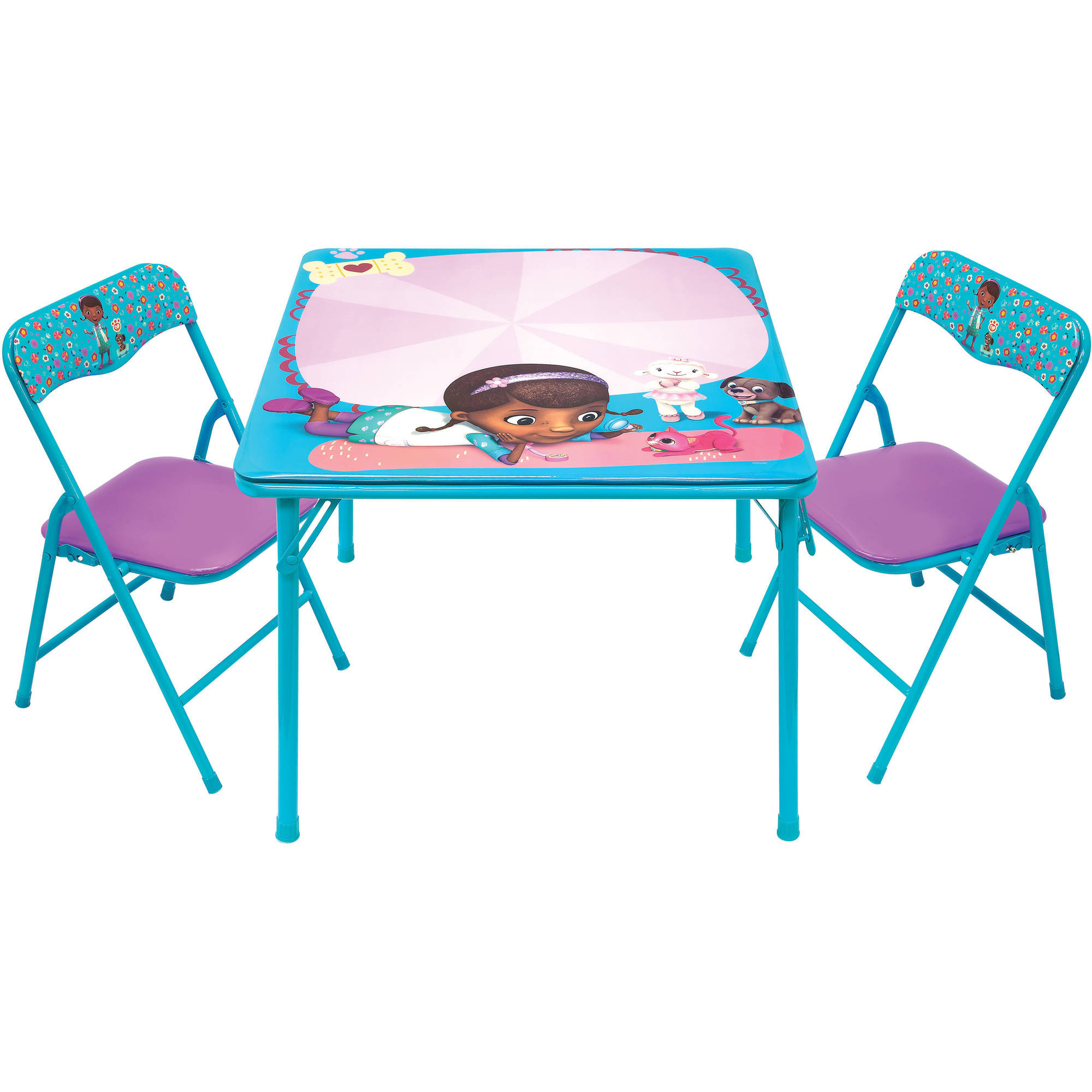 Doc McStuffins Pet Vet Erasable Activity Table Set with 3 Markers
