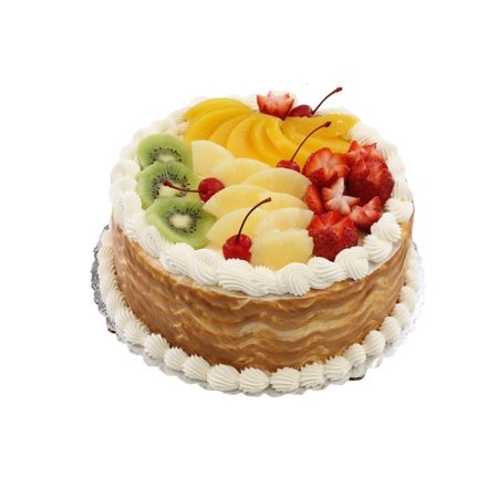 - Canvas Print Dessert Baking Birthday Fruit Cake Bakery Stretched Canvas 10 x 14
