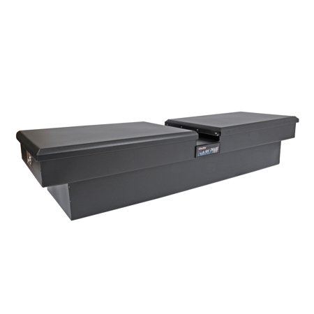 Dee Zee Black Tread - Dee Zee DZ 8370SB Crossover - Double Tool Boxes - Steel - Universal Fit