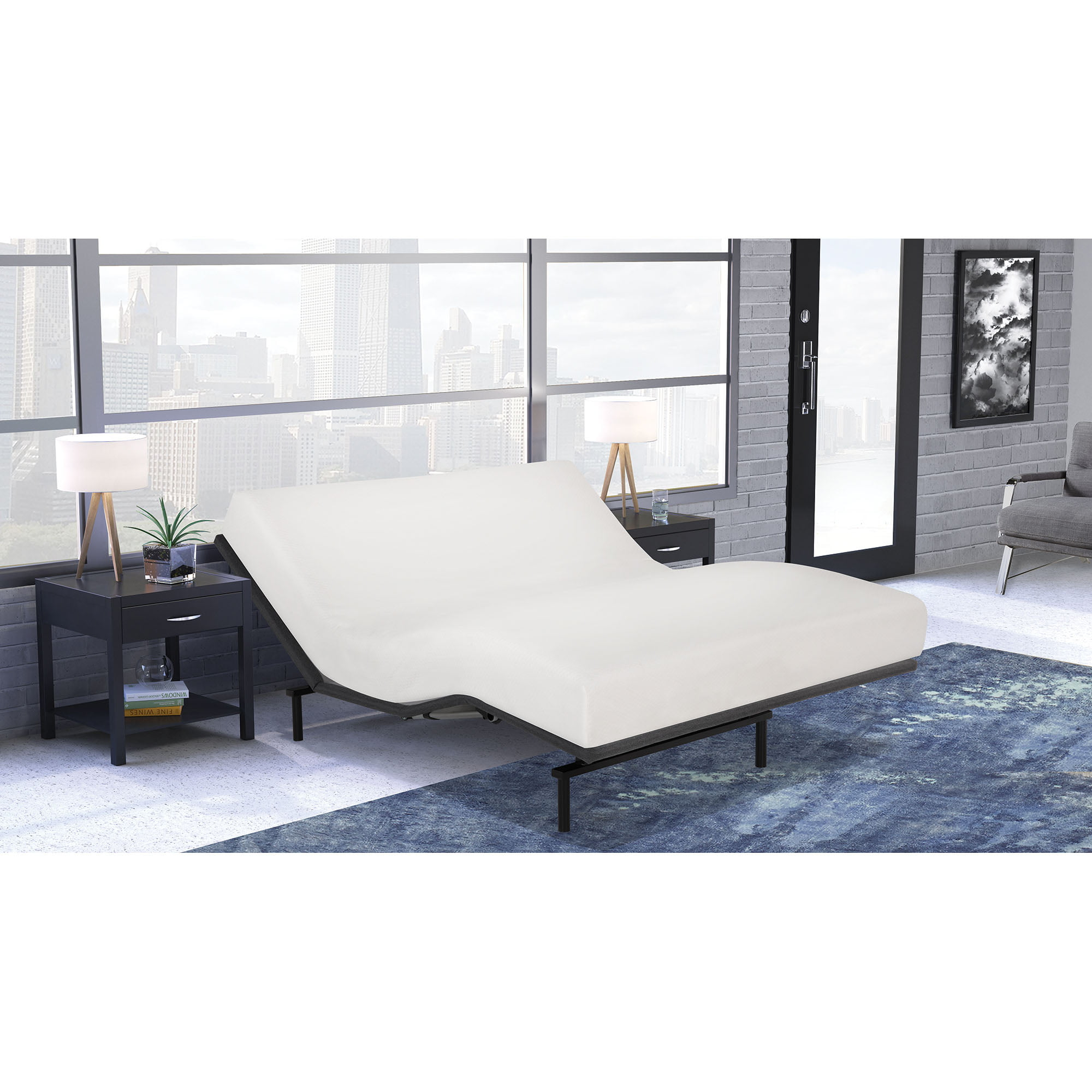 adjustable dp leggett platt com bed amazon split base and view frames signature larger