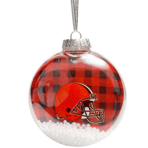 Cleveland Browns Flannel Ornament
