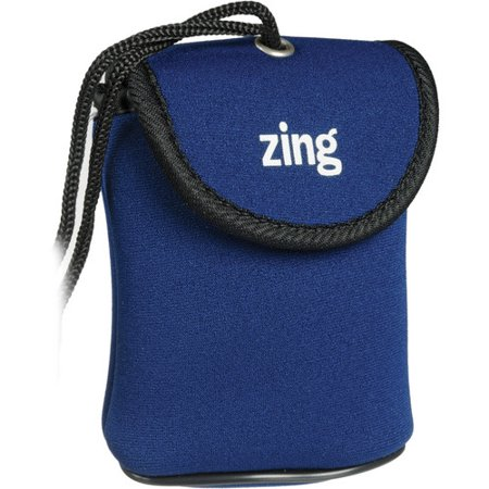 Zing Designs Camera Pouch, Small (BLUE)*AUTHORIZED ZING USA DEALER*
