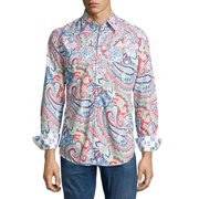 Robert Graham RS141022 Perfecto Long Sleeve Shirt Medium Multicolor