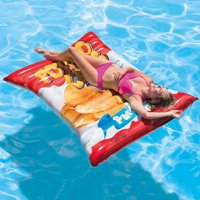 "Intex Inflatable Potato Chips Pool Float, 70"" x 55"""