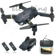 2MP Camera WIFI FPV Foldable Arm Selfie Drone 6 Axis 2.4G 4CH RC Quadcopter + 2PCS Batteries