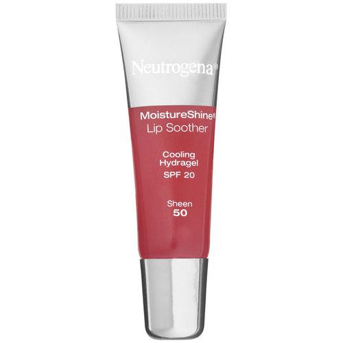 neutrogena moistureshine lip soother, spf 20, sheen 50