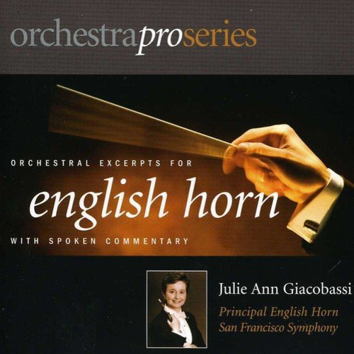 Julie Ann Giacobassi - Orchestral Excerpts for English Horn [CD]