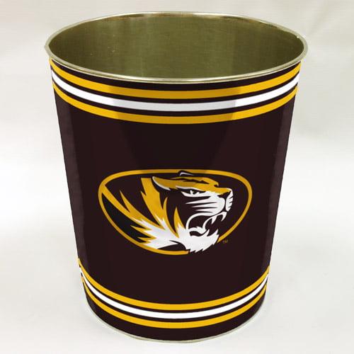 NCAA Missouri Tigers Wastebasket