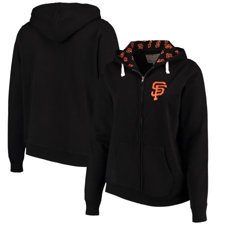 San Francisco Giants Soft as a Grape Women's Plus Size Pennant Race Full-Zip Hoodie - (San Francisco Giants Pennant)
