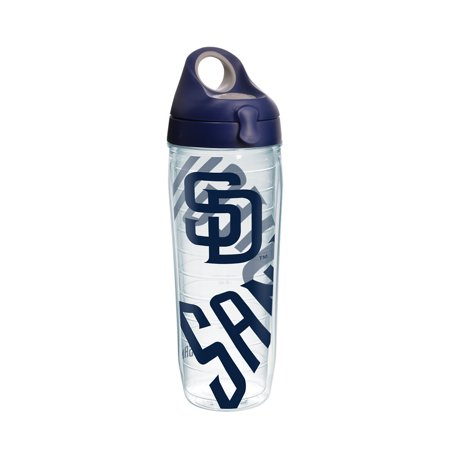 9de4ad7850a37 MLB San Diego Padres Genuine 24 oz Water Bottle with lid - Walmart.com