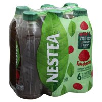 Nestea Raspberry Flavored Tea, 16.9 Fl. Oz., 6 Count