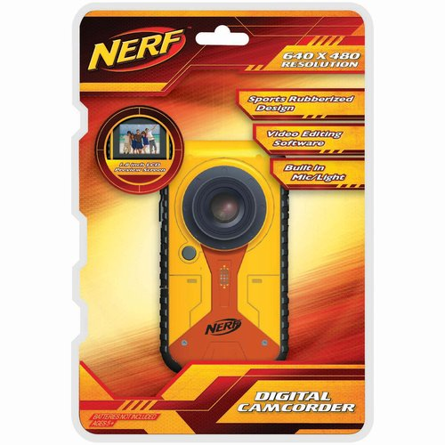 Sakar 38056 Nerf Digital Video Recorder Yellow