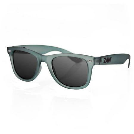 Zanheadgear Winna Sunglasses with Matte Olive Frame-Smoked Lenses