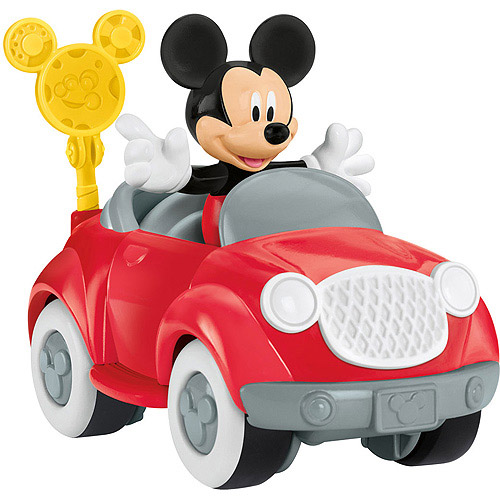 Fisher-Price Disney Mickey Mouse's Sporty Car