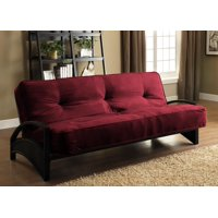 Product Image Dhp Alessa Black Metal Futon Frame W 8 Mattress Multiple Colors