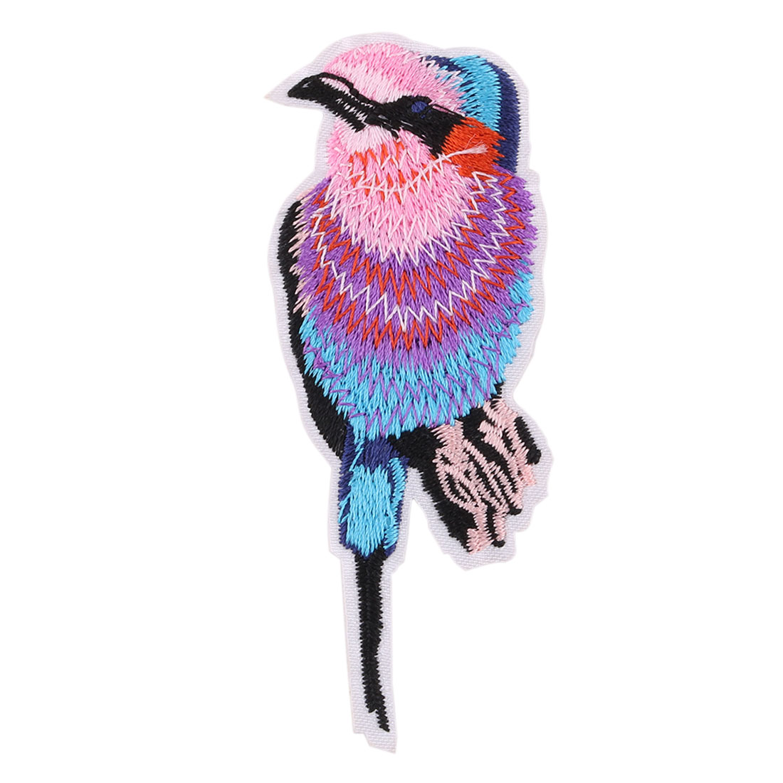 Unique Bargains Household Polyester Bird Pattern Embroidery Sewing Trimming Lace Applique