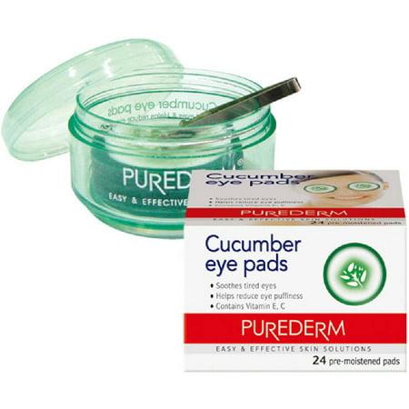 Eye Pads Refill (Purederm Cucumber Eye Pads, 24)