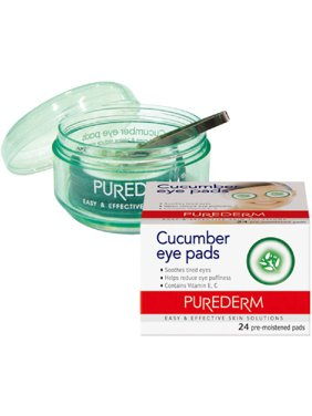 Purederm Cucumber Eye Pads, 24 count