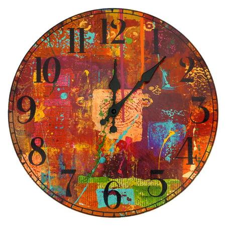 Oriental Furniture India by Gita Wall Clock (Custom Duty On Used Furniture In India)