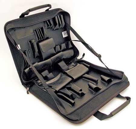 PLATT Tool Case,15-1/2x13-1/4x3-1/4,Black 685ZT