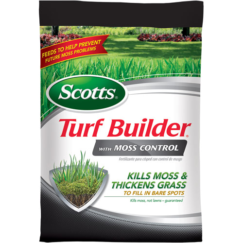 Scotts Turf Builder with Moss Control, 5,000 sq ft