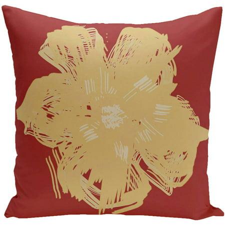 "Simply Daisy 16"" x 16"" Polyester Outdoor Pillow"
