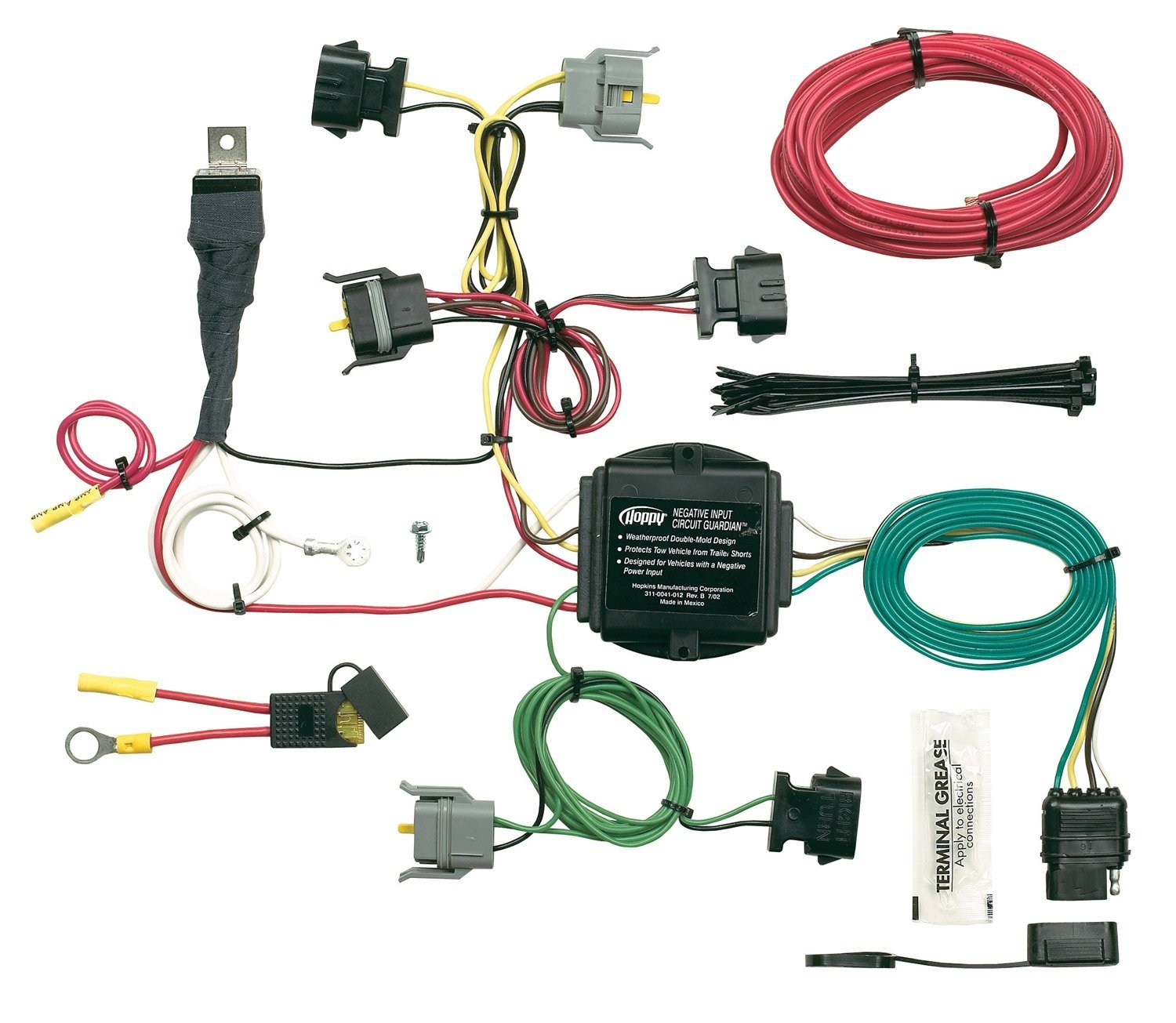 Hopkins Manufacturing Wiring Diagram Electrical Diagrams 47185 40615 Plug In Simple Vehicle Kit T Connectors Allow Flow