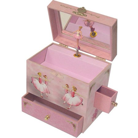 Enchantmints Ballerina Musical Jewelry Box - Little Girls Jewelry Boxes