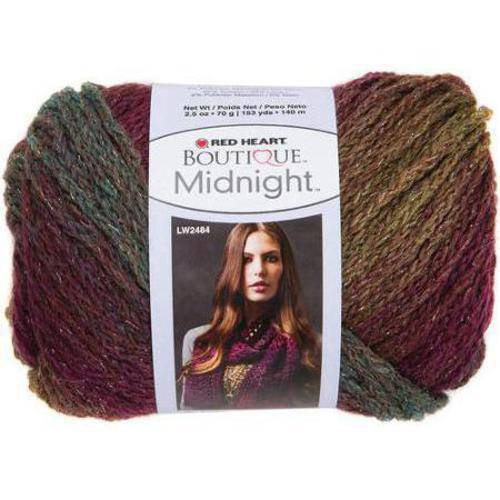 Red Heart Boutique Midnight Yarn, Available in Multiple Colors
