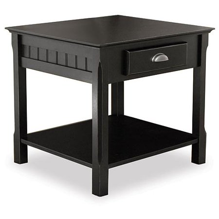 Timber 3 Piece Coffee Console And End Tables Value Bundle Black