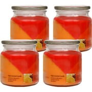 Set Of 4 - Mainstays Cranberry Mandarin