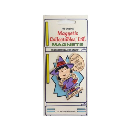 The Original Magnetic Collectables Peanuts Halloween Magnet - Lucy Witch - Peanuts Lucy Halloween Costume