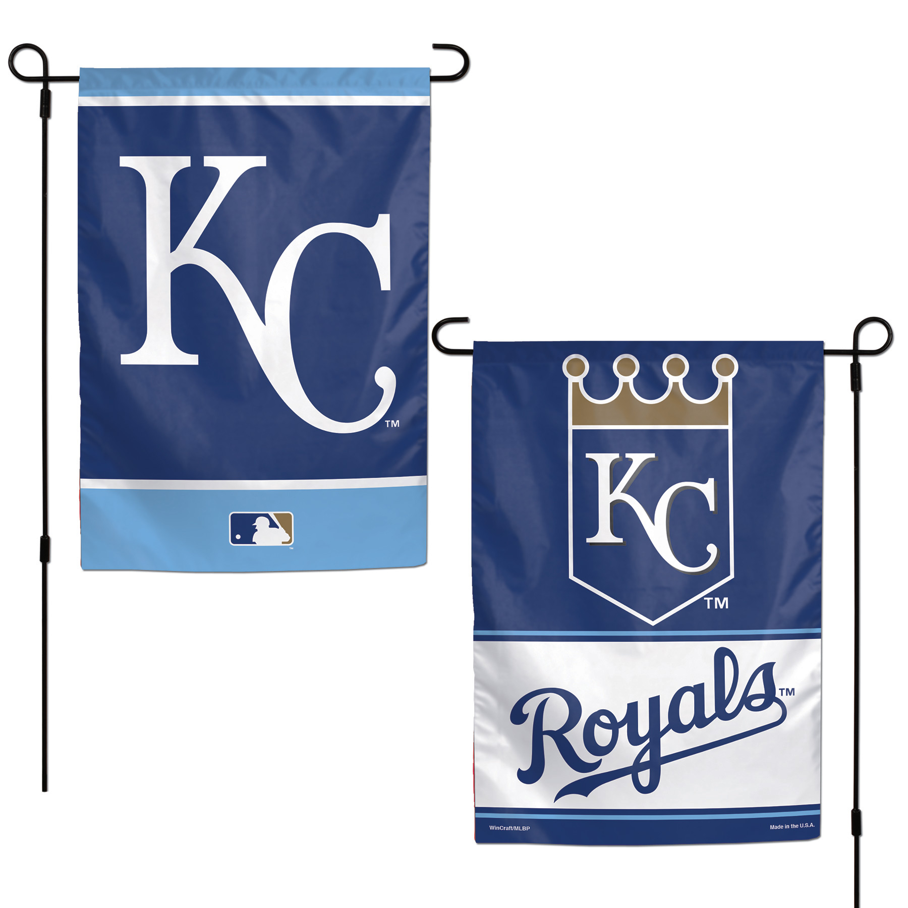 """Kansas City Royals WinCraft 12"""" x 18"""" Double-Sided Garden Flag - No Size"""