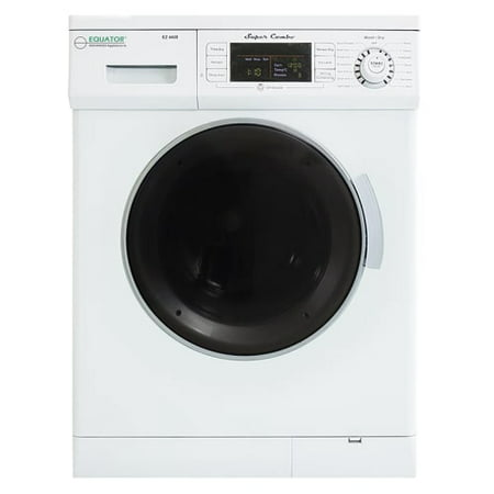 Coin Washer Dryer - Equator All-in-One 13 lb Compact Combo Washer Dryer, White